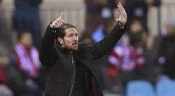 Diego Simeone, durante el partido frente al Getafe. | EFE