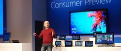 Steven Sinofsky presentando Windows 8.   EP/Carlos Hergueta