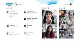 Así es Skype en la nueva interfaz de Windows 8. | Tienda Windows