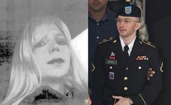 El soldado Manning vestido de mujer y de uniforme | Cordon Press / Efe