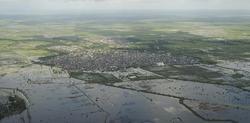 La localidad de Jowhar, una de las zonas más afectadas por el ciclón | EFE