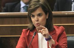 Soraya, este miércoles en el Congreso   EFE