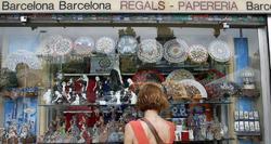 Tienda de souvenirs en Barcelona | Cordon Press