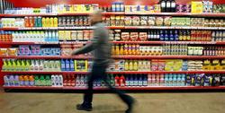 Estantería de un supermercado, EFE