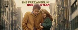 Portada de 'The freewheelin'