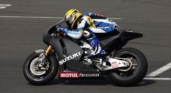 Prototipo de una moto Suzuki.
