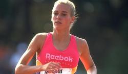 Suzy Favor-Hamilton, durante su época como atleta.