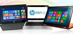 Surface Pro, HP Envy x2 y Lenovo IdeaPad Yoga 11S