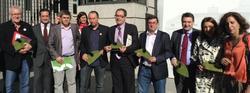 PSOE,IP,PNV,CIU,UPyD, a las puertas del Congreso I @tasarobinhood.