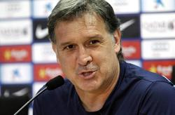 Gerardo 'Tata' Martino, en rueda de prensa. | EFE