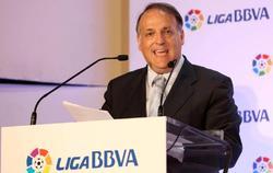 Javier Tebas, presidente de la LFP. | Cordon Press/Archivo