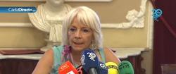 Teófila Martínez en el momento de las declaraciones | Imagen TV/Cádiz Directo
