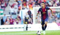 Thiago Alcántara, durante un partido del Barcelona.   Cordon Press