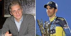 Oleg Tinkov y Alberto Contador. | Archivo