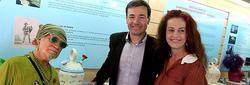 Tomás Gómez Paco Clavel y la diputada del PSOE Carla Antonelli | EFE
