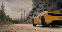 Una imagen del programa 'Top Gear' en Atarfe, Granada. | BBC