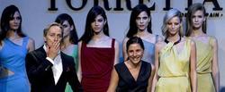 El diseñador Roberto Torretta en la la 58 edición de la Madrid Fashion Week, este viernes. | Efe