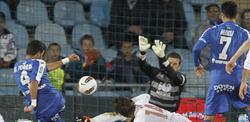 Miguel Torres logra su primer gol como profesional. | EFE