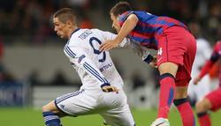 Fernando Torres no pudo completar el partido ante el Steaua  por lesión. | Cordon Press