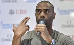 Tyson Gay, durante una imagen reciente en Lausana.   EFE