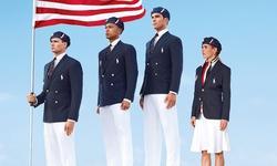 El uniforme que vestirá a Estados Unidos durante los Juegos.