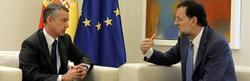 Rajoy recibe a Urkullu en Moncloa | D. Crespo