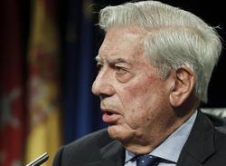 Vargas Llosa, este jueves en la Casa de América | EFE