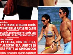 Ana Boyer y Fernando Verdasco en Hola