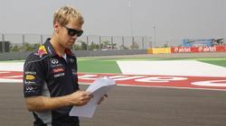 Sebastian Vettel pasea por uno de los circuitos. | Archivo