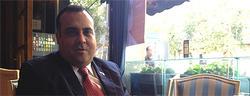 José Pacheco, en un momento de la entrevista | LD