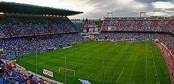 El estadio Vicente Calderón. | Archivo