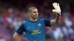 Victor Valdés, portero del Barcelona. | EFE