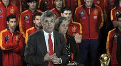 Ángel María Villar, presidente de la Federación Española de Fútbol. | Archivo
