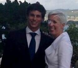 María de Villota y su ahora marido | Cordon Press