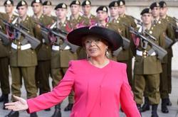 Viviane Reding, en la boda de los príncipes de Luxemburgo, este fin de semana. | EFE