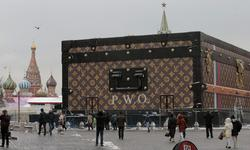 Baúl de Louis Vuitton en la Plaza Roja | Cordon Press