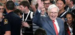 Warren Buffett el pasado mes de mayo en Omaha | Cordon Press