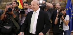 José Ignacio Wert este miércoles en el Ministerio | EFE