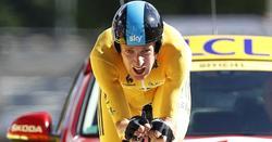 Bradley Wiggins, durante el último Tour de Francia. | Archivo