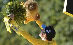 Wiggins, campeón del Tour de Francia.   EFE