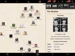 Pantallazo de la app Wikilinks