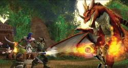 Una escena de lucha en 'World of Warcraft'