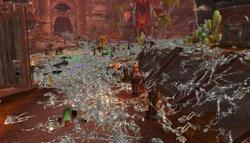 Ciudades cubiertas de esqueletos en 'World of Warcraft' | WoW Insider
