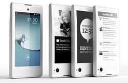 El móvil está disponible en colores blanco y negro. | Yota