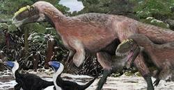 Reconstrucción de 'Yutyrannus' | Nature