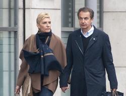 Sonsoles Espinosa y Zapatero, en un viaje a París de este año | Cordon Press
