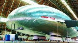 El nuevo dirigible. | AEROS