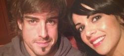 Fernando Alonso y Raquel del Rosario | Twitter