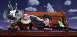 Arthur Christmas ya esta en cines