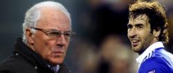 Franz Beckenbauer y Raúl González. | LD